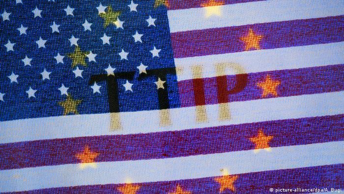 Symbolbild TTIP USA EU