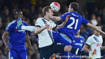 Fussball Englisch Premier League Spiel Chelsea vs Tottenham (picture-alliance/dpa/W. Oliver)