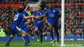 English Premier League Leicester City Sieg