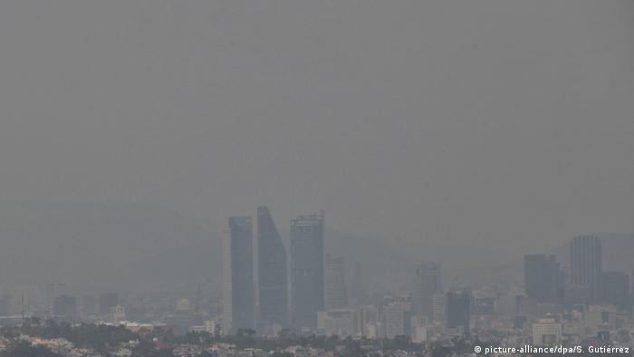 Smog in Mexiko Stadt