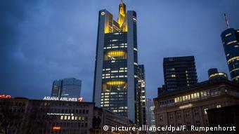 Штаб-квартира Commerzbank во Франкфурте-на-Майне