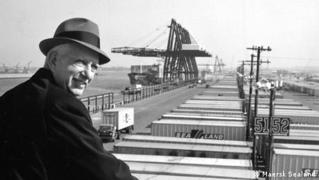 Malcom McLean, father of the container ship