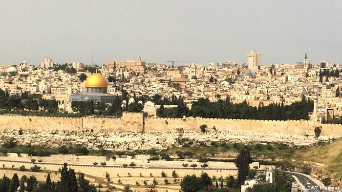 The skyline of Jerusalem (Photo: DW/T.Kraemer)
