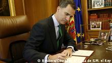 Spanien Neuwahlen König Felipe löst das Parlament auf