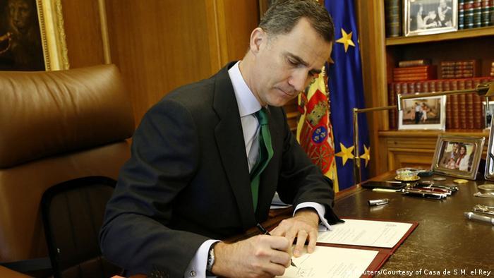 König Felipe löst das Parlament auf - Foto: Reuters