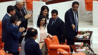 Türkei Parlament Abgeordnete der HDP