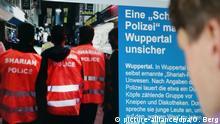 Deutschland Scharia-Polizei Wuppertal