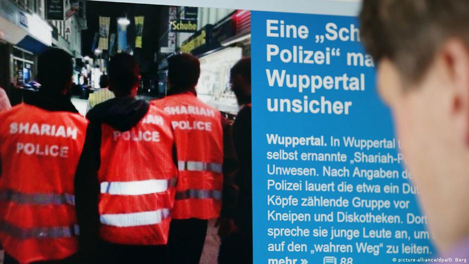 scharia polizei von wuppertal kommt doch vor gericht aktuell deutschland dw. Black Bedroom Furniture Sets. Home Design Ideas