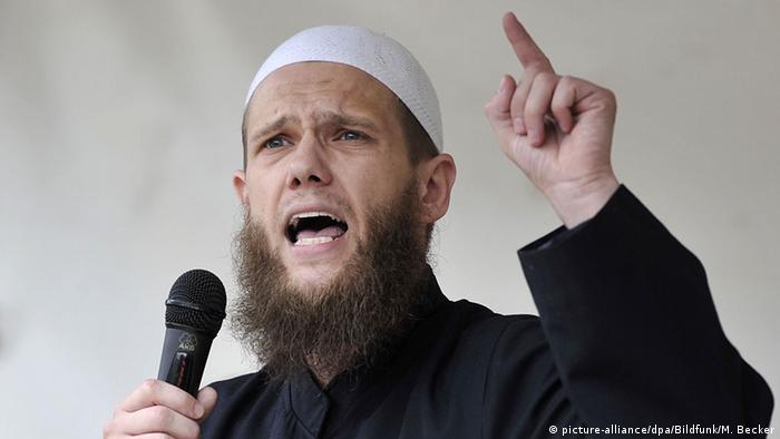 Salafist preacher Sven Lau