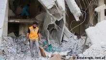 Syrien Bombardiertes Krankenhaus in Aleppo Tariq al-Bab