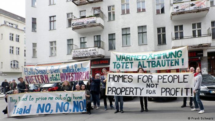 Resultado de imagen para El movimiento de los inquilinos de Berlin