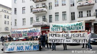 Mieterprotest Berlin