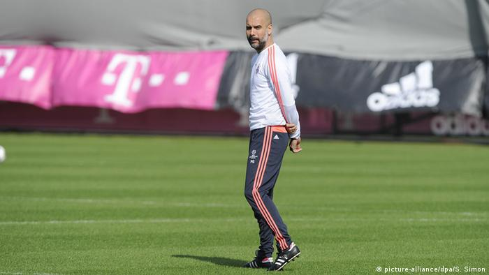 Trainer FC Bayern Pep Guardiola