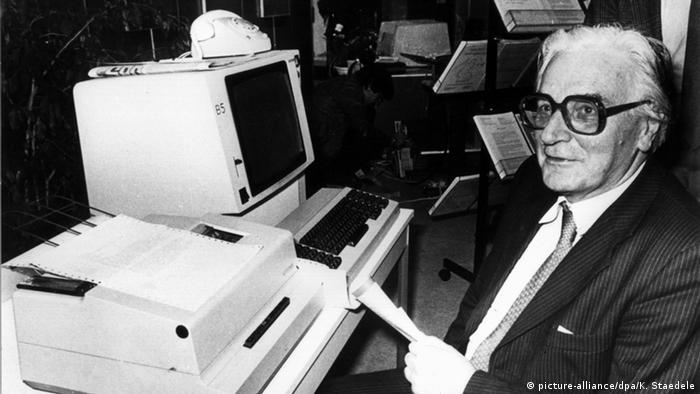 Computer Inventor Konrad Zuse