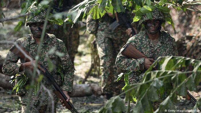 Malaysien Soldaten Militär