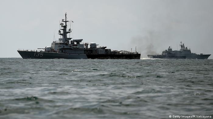 Malaysien Soldaten Militär Kriegsschiff