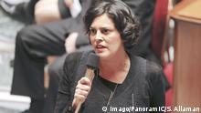 Arbeitsministerin Myriam El Khomri in der Nationalversammlung