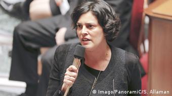 Frankreich Myriam El Khomri in Paris