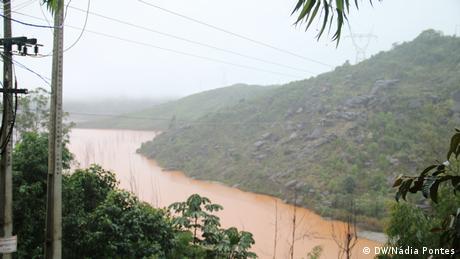 Barragem Santarém, operada pela mineradora Samarco em Minas Gerais