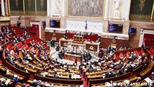 Frankreich Fragestunde in der Nationalversammlung