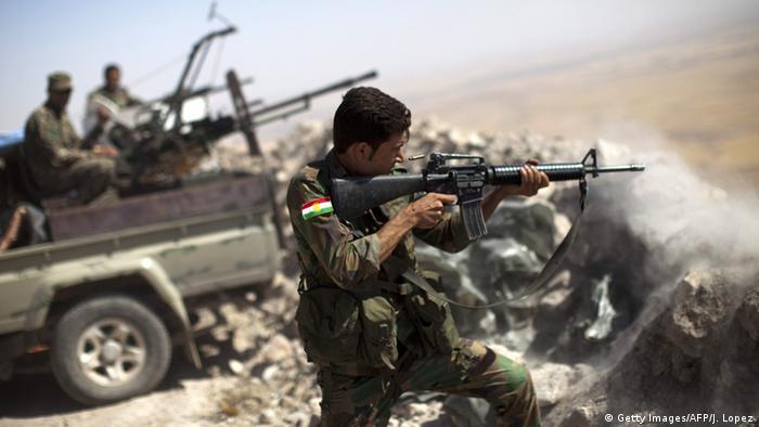 Symbolbild Irak Peschmerga