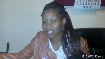 Mosambik Clara Armado, Presidente do Fórum das Organizações Femininas da Sociedade Civil
