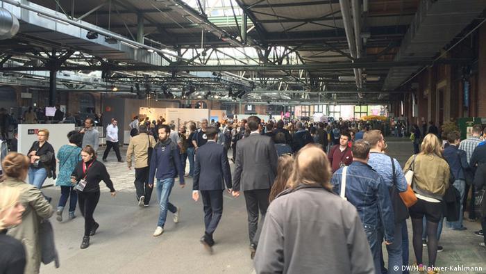 Deutschland Republica 2016 Berlin Besucher