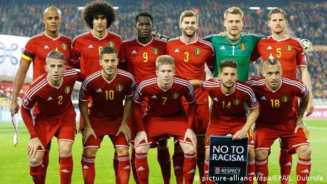 Belgien Nationalmannschaft in Brüssel