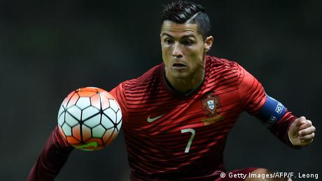 Portugal Nationalmannschaft Cristiano Ronaldo in Braga