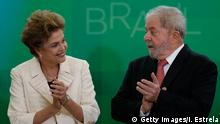Brasilien Dilma Rousseff und Luiz Inacio Lula da Silva