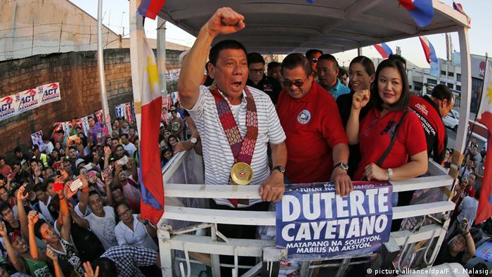 Philippine Rodrigo Duterte (picture alliance/dpa/F.-R. Malasig)