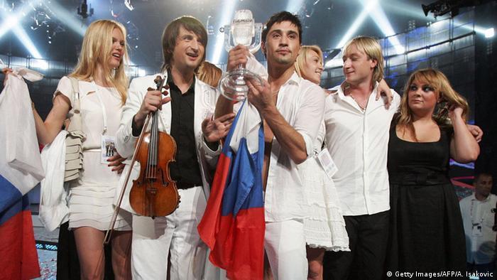 Дима Билан на Eurovision Song Contest в Белграде