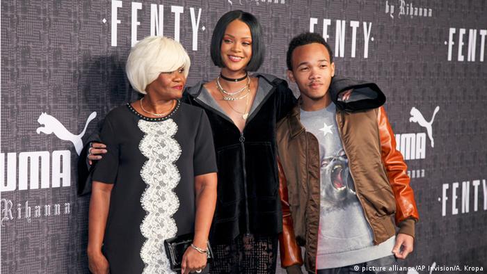USA Monica Braithwaite, Rihanna, Rajad Fenty