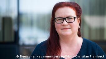 Martina Klenk. (Photo: Deutscher Hebammenverband/Hans-Christian Plambeck)