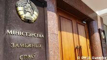 Russland Weißrussland Außenministerium von Weißrussland