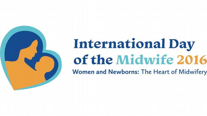 International Day of the Midwife Logo. (Image: http://www.internationalmidwives.org/events/idotm/idm2016/)