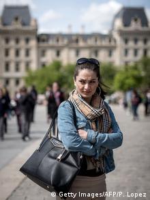 Afghanistan Marina Gulbahari Schauspielerin in Paris