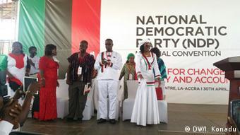 Ghana Nana Konadu NDP Partei Kongress