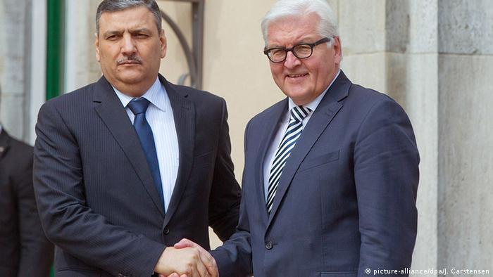Deutschland Steinmeier begrüßt Riad Hijab von der syrischen Opposition in Berlin