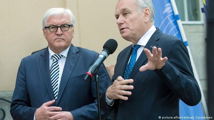 Deutschland Steinmeier und Ayrault bei Syrien-Gespräch in Berlin