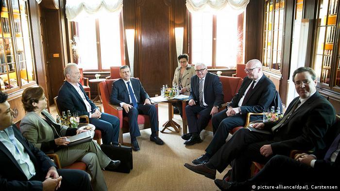 Deutschland Syrien-Gespräch in Berlin