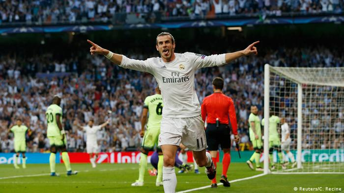 Champions League Real Madrid CF - Manchester City Gareth Bale