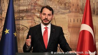 Energy Minister of Turkey, Berat Albayrak Copyright: picture-alliance/AA/A. Dumanli