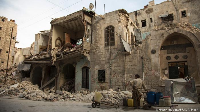 Syrien Zerstörung in Aleppo