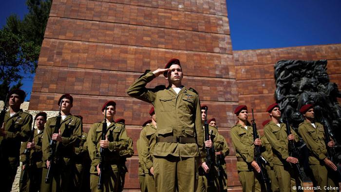 Israel Gedenken an den Holocaust Schweigeminute