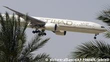 Etihad Airways Flugzeug