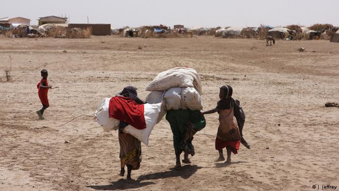 Somali Äthiopien Shinile-Zone Dürre erschwert Lebensbedingungen (Bild: Copyright: J. Jeffrey)