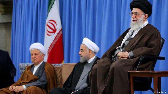 Iran Khamenei Rohani Rafsanjan