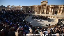 Die Symphoniker aus St. Petersburg verzauberten das Publikum im römischen Amphitheater von Palmyra