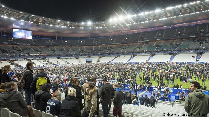 Frankreich Fußball Stade de France